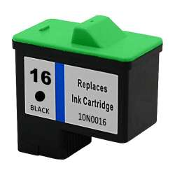 Remanufactured Lexmark 10N0016 (#16) inkjet cartridge - black