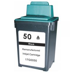 Remanufactured Lexmark 17G0050 (#50) inkjet cartridge - black
