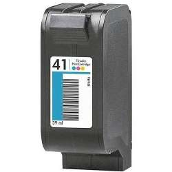 Remanufactured HP 51641A (HP 41) inkjet cartridge - color