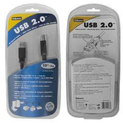 6-foot USB 2.0 A to B Cable