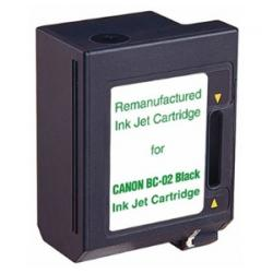 Remanufactured Canon BC-02 inkjet cartridge - black