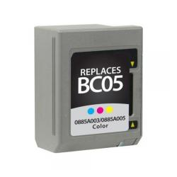 Remanufactured Canon BC-05 inkjet cartridge - color