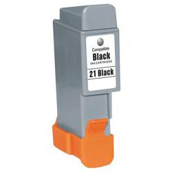 Compatible inkjet cartridge for Canon BCI-21Bk - black