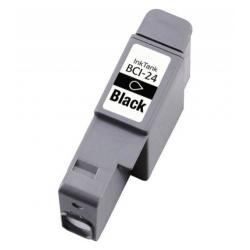 Compatible inkjet cartridge for Canon BCI-24Bk - black
