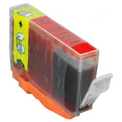 Compatible inkjet cartridge for Canon BCI-6R - red