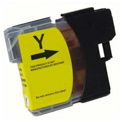 Compatible inkjet cartridge for Brother LC61Y - yellow