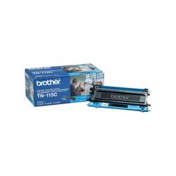 Original Brother TN115C toner cartridge - cyan