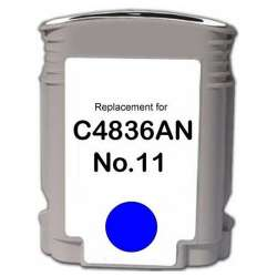 Remanufactured HP C4836A (HP 11) inkjet cartridge - cyan