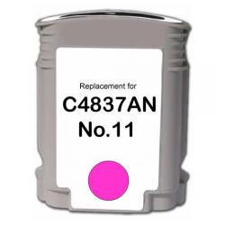 Remanufactured HP C4837A (HP 11) inkjet cartridge - magenta