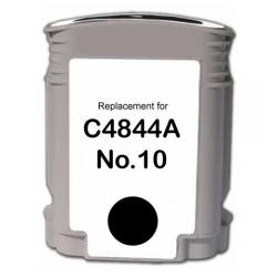 Remanufactured HP C4844A (HP 10) inkjet cartridge - black