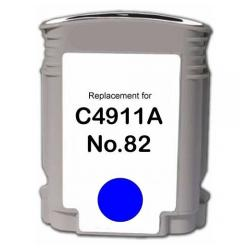 Remanufactured HP C4911A (HP 82) inkjet cartridge - cyan