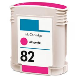Remanufactured HP C4912A (HP 82) inkjet cartridge - magenta