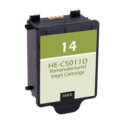 Remanufactured HP C5011AN (HP 14) inkjet cartridge - black
