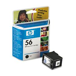 Original HP C6656 (HP 56) inkjet cartridge - black