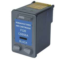 Remanufactured HP C6656AN (HP 56) inkjet cartridge - black