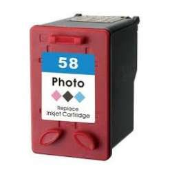 Remanufactured HP C6658 (HP 58) inkjet cartridge - photo