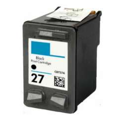 Remanufactured HP C8727AN (HP 27) inkjet cartridge - black