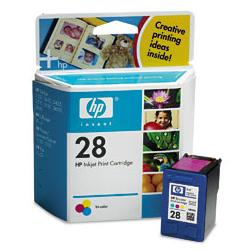 Original HP C8728 (HP 28) inkjet cartridge - color