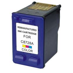 Remanufactured HP C8728AN (HP 28) inkjet cartridge - color
