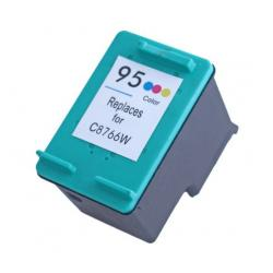 Remanufactured HP C8766 (HP 95) inkjet cartridge - color