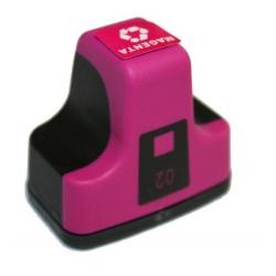 Remanufactured HP C8772WN (HP 02) inkjet cartridge - magenta