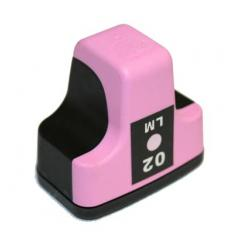 Remanufactured HP C8775WN (HP 02) inkjet cartridge - light magenta