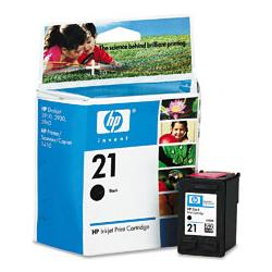Original HP C9351AN (HP 21) inkjet cartridge - black