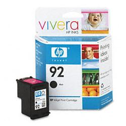 Original HP C9362AN (HP 92) inkjet cartridge - black