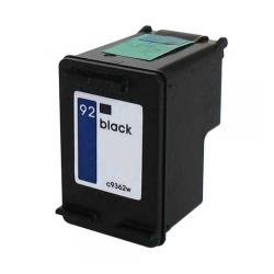 Remanufactured HP C9362 (HP 92) inkjet cartridge - black