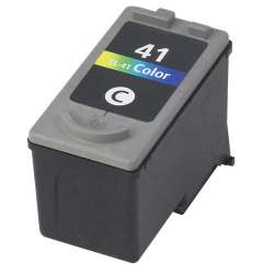 Remanufactured Canon CL-41 inkjet cartridge - color
