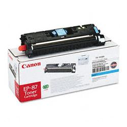 Original Canon EP-87 toner cartridge - cyan