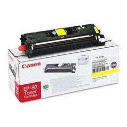 Original Canon EP-87 toner cartridge - yellow
