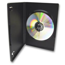 DVD Cases (Black, Slim DVD cases, Single DVD cases)