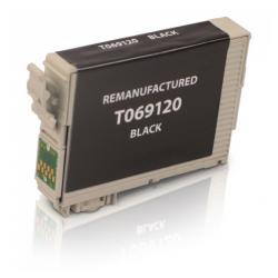 Remanufactured Epson T069120 (69) inkjet cartridge - black