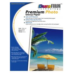 Glossy Photo Printer Paper (8.5x11 in, 20 sheets/pack) - DuraFirm Technology Premium Quality photo paper