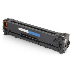 Remanufactured/Compatible HP CB541A (125A) toner cartridge - cyan
