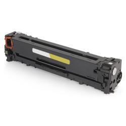 Remanufactured/Compatible HP CB542A (125A) toner cartridge - yellow