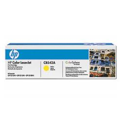 Original HP CB542A (125A) toner cartridge - yellow