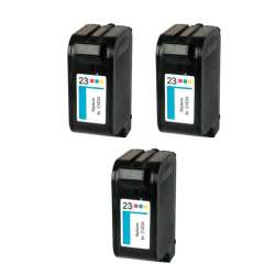 Remanufactured inkjet cartridges Multipack for HP 23 - 3 pack
