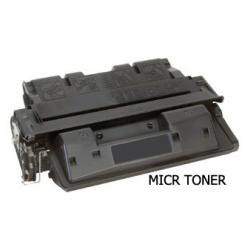 Remanufactured/Compatible HP C8061X (61X) toner cartridge - high capacity MICR black