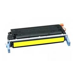 Remanufactured/Compatible HP C9722A (641A) toner cartridge - yellow