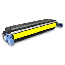 Remanufactured/Compatible HP C9732A (645A) toner cartridge - yellow