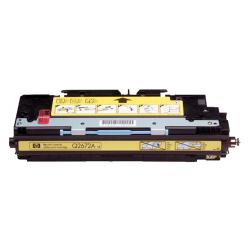 Remanufactured/Compatible HP Q2672A (309A) toner cartridge - yellow