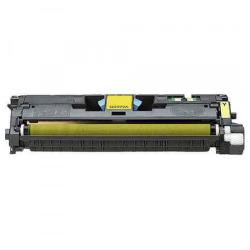 Remanufactured/Compatible HP Q3962A (122A) toner cartridge - yellow