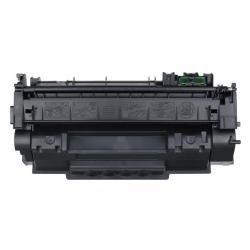 Remanufactured/Compatible HP Q7553A (53A) toner cartridge - black