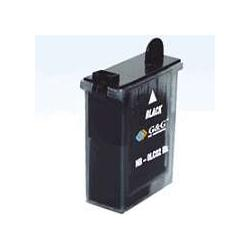 Compatible inkjet cartridge for Brother LC02BK - black
