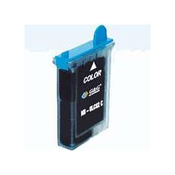 Compatible inkjet cartridge for Brother LC02C - cyan