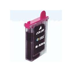 Compatible inkjet cartridge for Brother LC02M - magenta