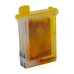 Compatible inkjet cartridge for Brother LC04Y - yellow