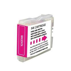 Compatible inkjet cartridge for Brother LC51M - magenta